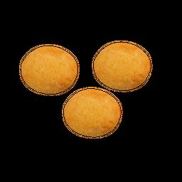 3 Buñuelos rellenos
