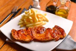 Pollo Deshuesado al BBQ
