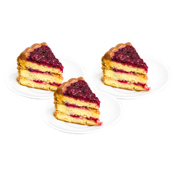 3x2 Porciones de Torta