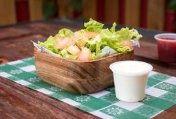 Lechuga y Tomate con Salsa Ranch