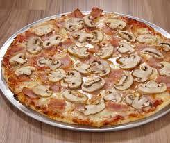 Pizza Pequeña Jamón y Champiñón