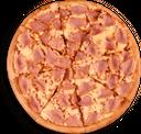 Pizza Grande Jamón y Queso