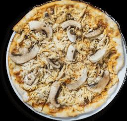Pizza Mediana Pollo y Champiñón