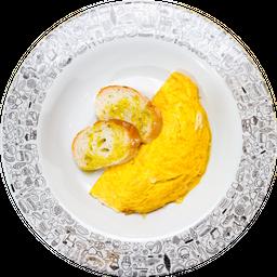 🧀 Omelette Queso Y Champiñón