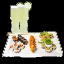 Combo Maki Tradicional + 2 limonadas