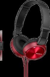 Audífonos plegables MDR-ZX310AP Rojo