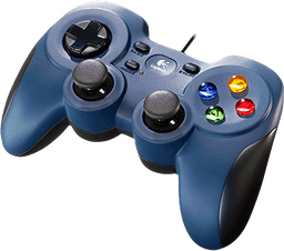 Gamepad Logitech F310 Para PC Alambrico.
