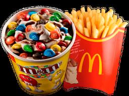 🍟 Papas Grandes + 🍧 McFlurry™ M&M