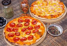 2 Pizzas Clásicas Personales