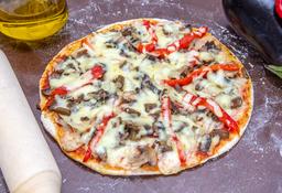 Pizza Vegetales + Bebida Gratis