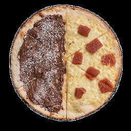 Pizza Dulce Nutella y Queso Bocadillo🍕