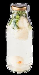 Soda de Lychee y Hierbabuena