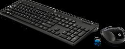 Teclado y mouse inalámbricos HP 200