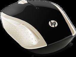 Ratón inalámbrico HP 200 (Dorado)