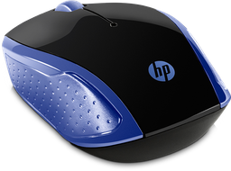 Mouse inalámbrico HP 200(Azul)