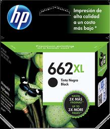 Cartucho de tinta HP 662XL negra Original CZ105AL.