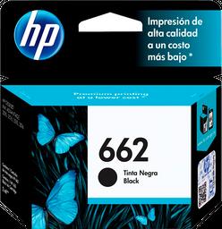 Cartucho de tinta HP 662 negra Original CZ103AL.