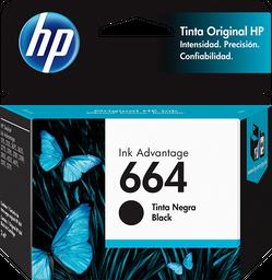Cartucho de tinta HP 664 negra Original
