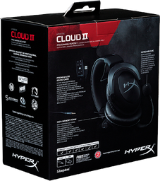 Diadema Kingston Hyperx Cloud II Negro