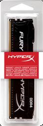Memoria Ram PC Hyperx Fury DDR4 8GB 2400Mhz Negro