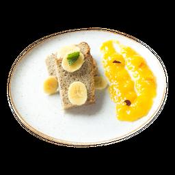 Torta de Banano Vegana y sin Gluten