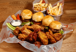 Wings & Burgers x 12