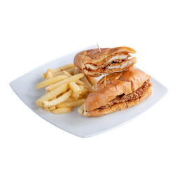 Sándwich de Pollo Parmesano
