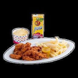 Tiritas de pollo