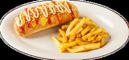 Combo Hot Dog + Papas Francesas + Gaseosa personal