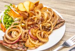 Steak Encebollado