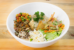 Bowl Vegetariano de Champiñones