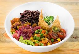 Bowl Vegetariano de Fríjoles Negros