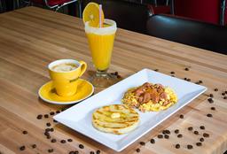Arma Tu Desayuno Fuddcreación🥞🍳🍹🍇🍓🍒