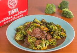 Lomito con Brócoli Media Porción