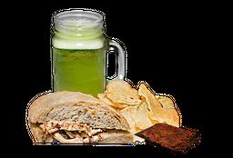 ½ Sandwich de Pollo 🥪 +  Limonada  + Mini brownie