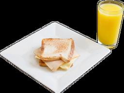 Desayuno Sanduche Sencillo