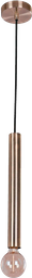 LAMPARA DE TECHO C2L- 18 TUSCAN 11*11*37CM METAL BRONCE
