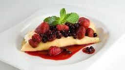 Waffle de Frutos del Bosque