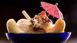 Helado Banana Split