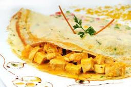 Crepe Pollo al Curry