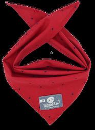 Pañoleta roja de hilos