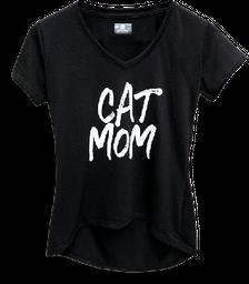 Camiseta Cat Mom para humanas