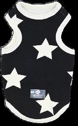Esqueleto negro estrellas blancas