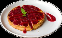 Waffle de Frutos Rojos