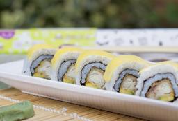 Tilapia tempura medio rollo