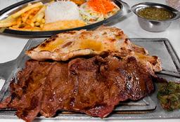 Carne mixta, res y cerdo