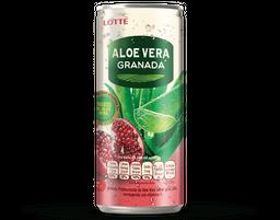 AloeVera Granada Lotte 240Ml Lata