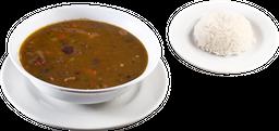 Sopa de Guandul con Carne