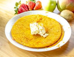 Pancakes de zanahoria