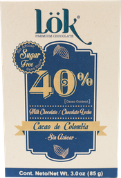 Chocolate Lök 40% Sin Azúcar